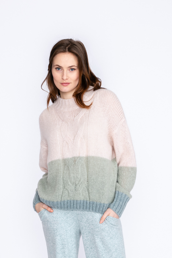 bicolor-cable-sweater