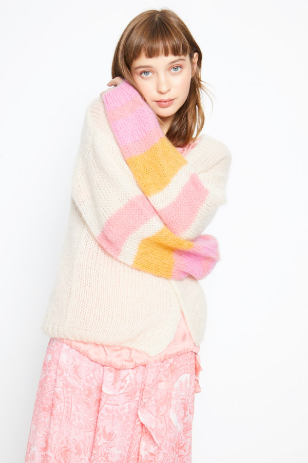mohair-stripe-sleeve-cardigan (1)