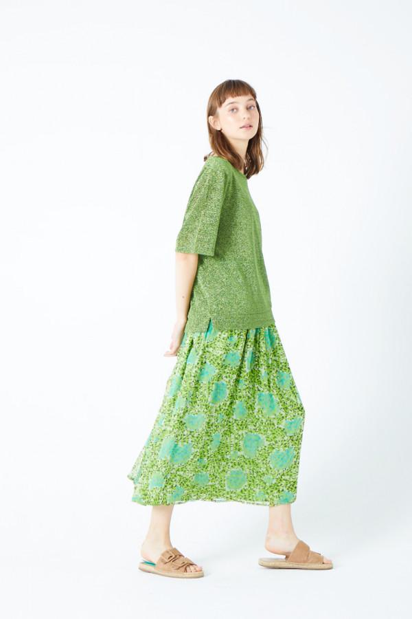printed-chiffon-skirt