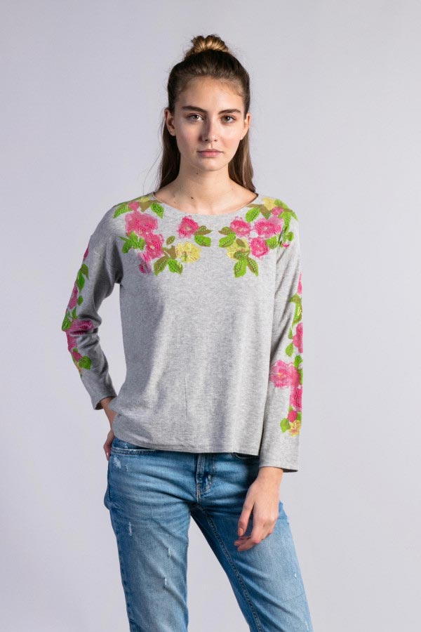 printed-flower-embroidery-sweater